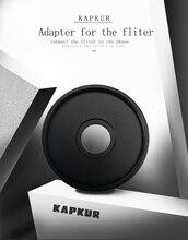 Адаптер kappur 37 мм, используйте для подключения телефона к фильтром NDX и CPL