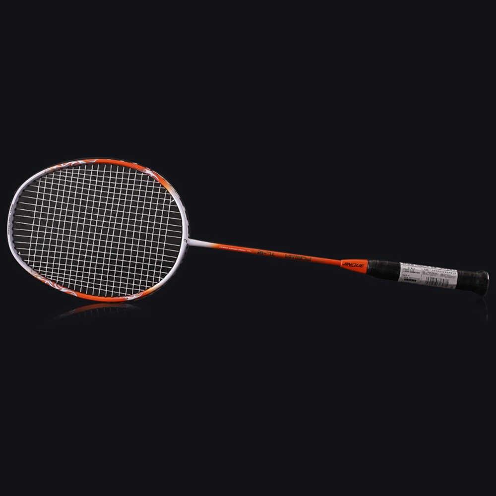 2 Player Badminton Racket Set Lightweight Carbon Badminton Racquet with Racket Cover Bag Super Light Professional Racquet