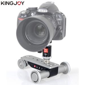 Image 2 - Kingjoy PPL 06S ミニ電動電気トラックスライダーモータードリートラック車用カメラビデオカメラ dv ドリーパノラマタイムラプス