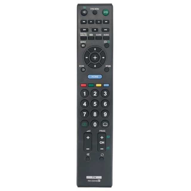 New Remote Control RM-ED046 for Sony Bravia TV KDL-22CX32D KDL-26BX320 KDL-26BX321 KDL-32BX320 KDL-32BX321 KDL-32BX420 KDL-32NX5