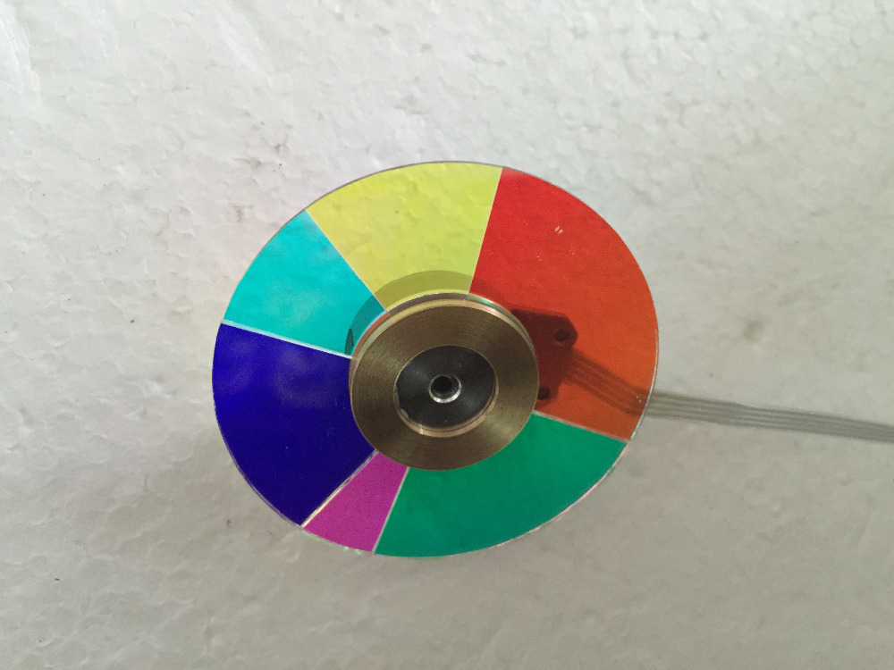 Wholesale Original Projector color wheel  for OPTOMA EW533ST Color wheel original projector color wheel for optoma ex540i