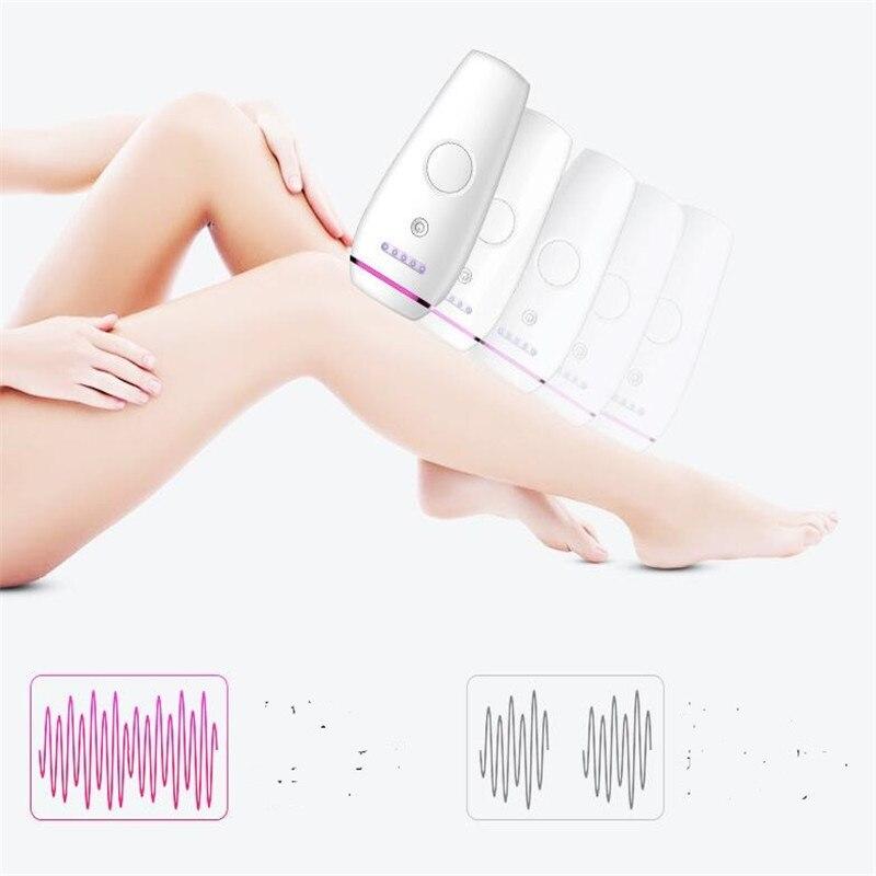 Электрический Перманентный лазерный эпилятор для волос мини IPL Машинка для удаления 300000 вспышек домашний депилятор для волос Бритва стрижка - 2