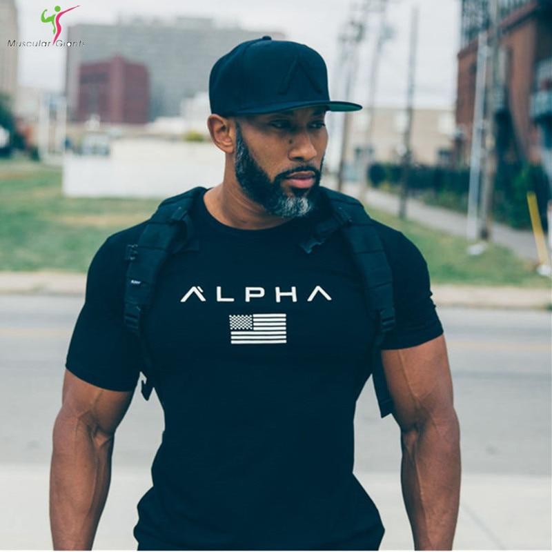 2017new brand fitness t shirt men fashion casual shirt for Men s fashion casual t shirts