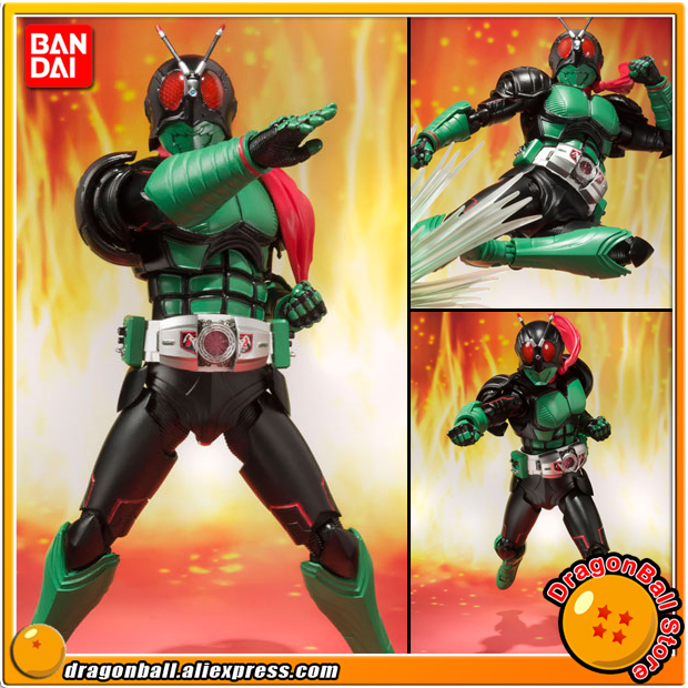 Japan Anime Masked Rider Original BANDAI Tamashii Nations S.H.Figuarts / SHF Action Figure - Kamen Rider 1 jaheertoy baby toys figure building blocks lion and elephant animal pattern funny educational wooden toys montessori kids