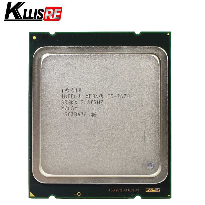 Intel xeon e5 2670 2.6GHz 20M Cache 8.00 GT/s LGA 2011 SROKX C2 E5-2670 Eight-Core Sixteen-Thread CPU Processor