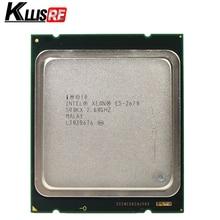 Intel xeon e5 2670 2.6GHz 20M Cache 8.00 GT/s LGA 2011 SROKX C2 E5 2670 huit cœurs seize fils processeur CPU