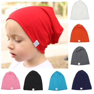 Toddler Newborn Kids Baby Boy Girl  Cotton Soft Warm Santa Solid Hat Beanie Cap Causal Hat infant baby boy kids frist walkers solid shoes toddler soft soled anti slip boots