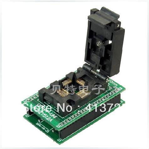 Ucos QFP44 go DIP44 go ZY512A test socket programming adapters женские часы go girl only go 694925