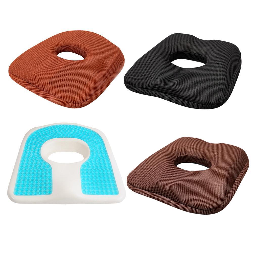 Пена с эффектом памяти Автомобильная подушка летняя крутая Автомобильная подушка для сиденья Нескользящая Удобная дышащая рельефная защита сиденья Подушка