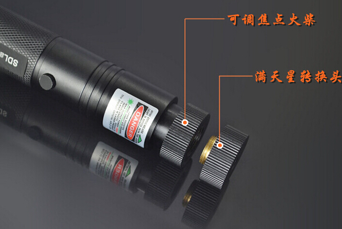 Powerful Military 100w 100000M Green Laser Pointer 532nm Flashlight Focus Burning Match,burn Cigarettes Range 12000 Meter