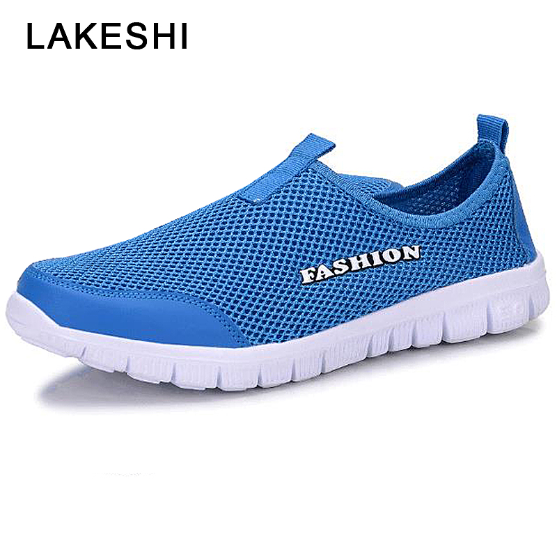 2019 Breathable Mesh Shoes Men's And Casual Shoes Sets Feet Men Sneakers