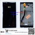 Em estoque!! 100% original display lcd touch screen digitador de vidro com frame para o nokia lumia 720 teste ok preto + pista