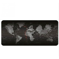 5 Size Extended Large Non-Slip Laptop Computer Keyboard World Map Mice Mouse Mat Desktop Pad Mats World Mat Mouse Pads [category]