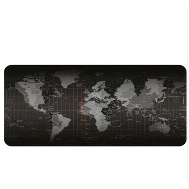 5 Size Extended Large Non-Slip Laptop Computer Keyboard World Map Mice Mouse Mat Desktop Pad Mats World Mat Mouse Pads