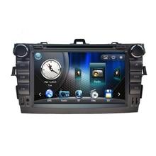 8 inch Car dvd player for Toyota corolla 2006 2007 2008 2009 2010 2011 in dash 2 din 1080P car radio gps video player head unit