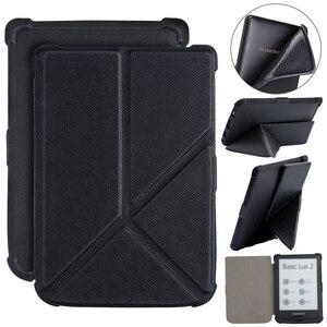 Чехол для Pocketbook 616, 627, 632, оригами, Обложка для Pocketbook Basic Lux 2/ touch Lux /touch HD 3, чехол из искусственной кожи