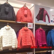 Зимний пуховик на утином пуху, женское модное пальто, парка, женская теплая одежда со стоячим воротником, ультра светильник, верхняя одежда хорошего качества