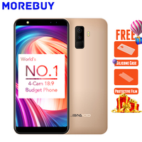 LEAGOO M9 5 5 18 9 Full Screen Four Cams Smartphone Android 7 0 MT6580A Quad