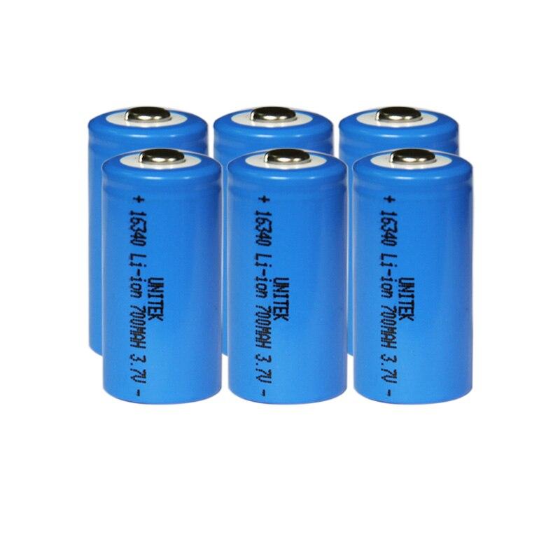 Baterias Recarregáveis tocha Capacidade Nominal : 700 MAH