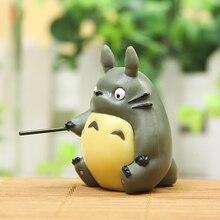 SJFC Miyazaki Hayao My Neighbor Totoro Fishing Doll PVC Action Figure font b Toys b font