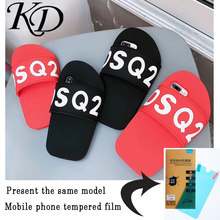 7bc097550c Phone Cases for Apple iPhone 6 6S 7 8 Plus Hot Fancy Silicone 3D Cute  Cartoon Slipper Back Cover Case for iPhone X 10 XS XR MAX