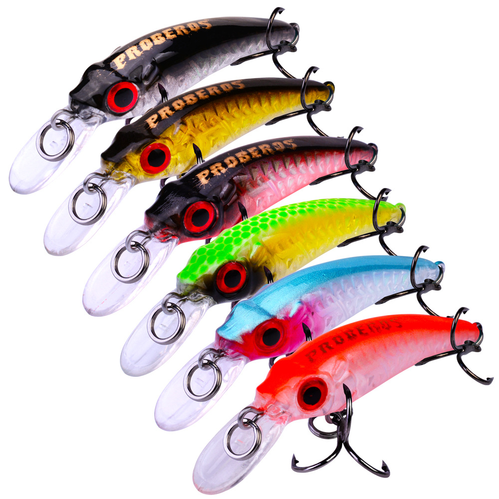 6CM 3.5G Fishing Lure Wobbler Artificial Hardbait Long Jig Hard Bait Hard Bait Fishing Lure jigging Lure Octopus Bait