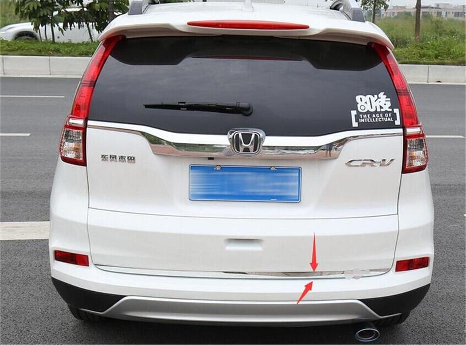 Chrome Front Upper Engine Lid Molding Cover Trim For Honda CR-V CRV 2015 2016