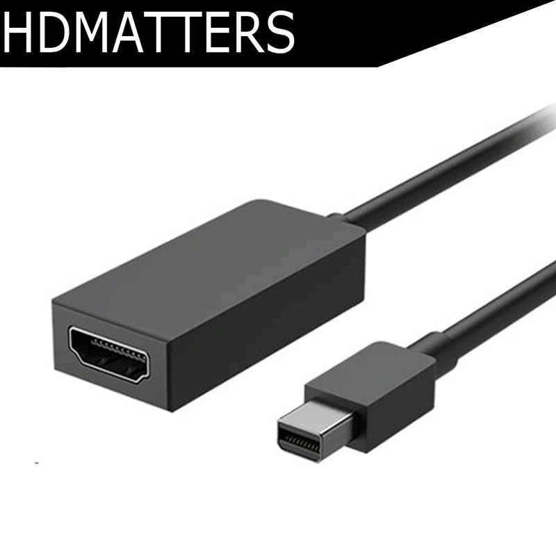 Mini Dp mini Displayport to HDMI AV адаптер для microsoft Surface 3 Pro & 4 Book|displayport/hdmi|displayport|mini displayport/hdmi -