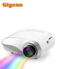 Gigxon-G600 blanco mini digital LCD proyector proyector 60 lúmenes real