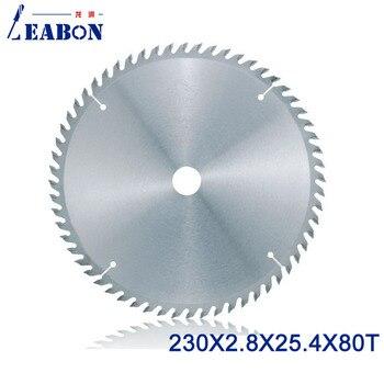 LEABON 80 Teeth TCT Saw Balde Woodworking Saw Blade 230x2.8x25.4x80T Circular Saw Blade for Wood Cutting