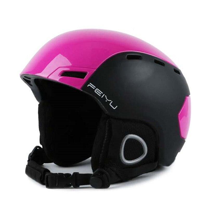 D'hiver en plein air Tête casque De Ski Hommes Ski De Patinage Planche À Roulettes Équipement de Protection Sécurité dans Respirant Sport Impact Casque Pour Les Femmes