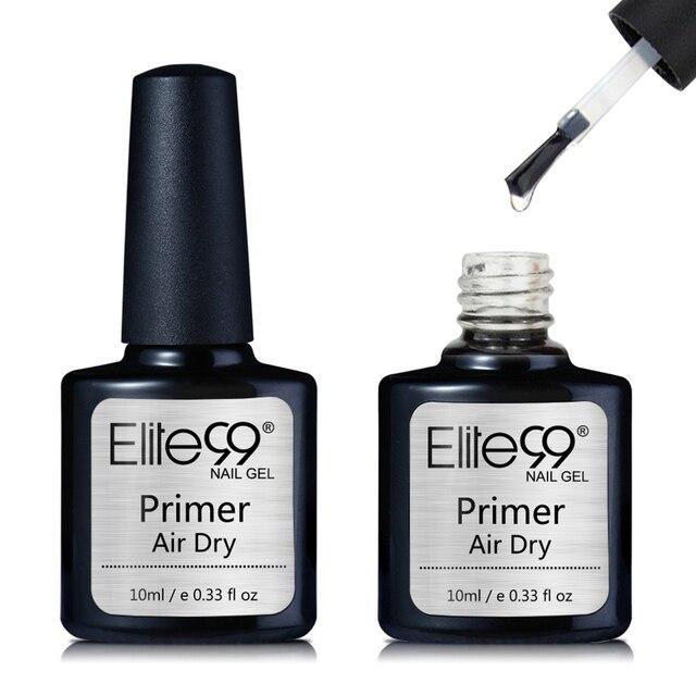 Elite99 10ml Keine Wischen Top Mantel UV Gel Polnischen Stärken Nagel Primer Reinigung Top Basis Coat Soak Off UV LED Lampe Nail art Maniküre