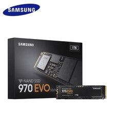 SAMSUNG SSD 1 ТБ 970 EVO M.2 2280 NVMe Внутренний твердотельный жесткий диск 500 Гб 250 Гб HDD M2 для ноутбука, настольного компьютера, ПК, PCIe