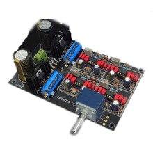 Ne5534 lme49710 ad797 mbl6010d preamplificador placa de integração kit preto ouro edição do coletor placa amplificador potência