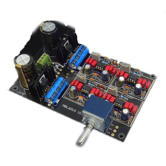 Placa de preamplificador NE5534 LME49710 AD797 MBL6010D, Kit de integración, placa amplificadora de potencia, edición coleccionista de oro negro