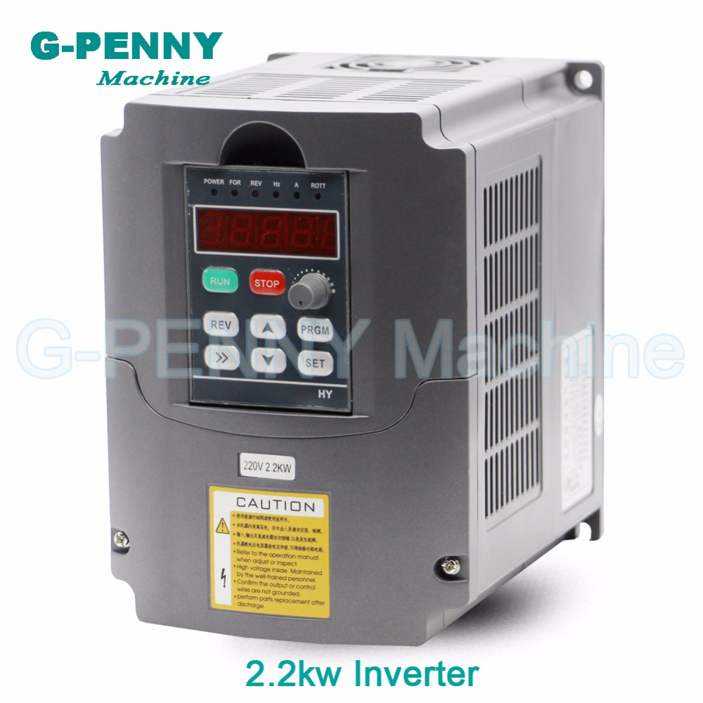 Sale! 220v 2.2kw VFD Variable Frequency Drive VFD Inverter 1HP or 3HP Input , 3HP Output CNC Spindle motor driver speed control! cnc spindle motor speed control 0 75kw 220v vfd drive cnc control 1000hz frequency inverter input 1ph or 3ph vfd inverter