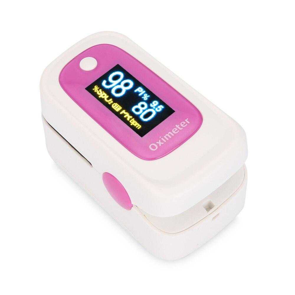 OLED Instant Read Digital Fingertip Pulse Oximeter SPO2H Family Health Monitoring