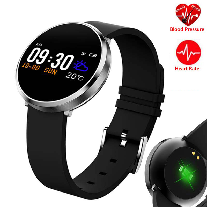 Fitness Smart Watch Men Women Heart Rate Monitor Blood Pressure Pedometer Bluetooth Sports Intelligent Watch For IOS Android цена