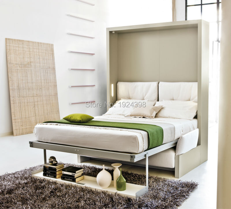 High quality folding wall bed,hidden wall bed murphy bed with sofa ...