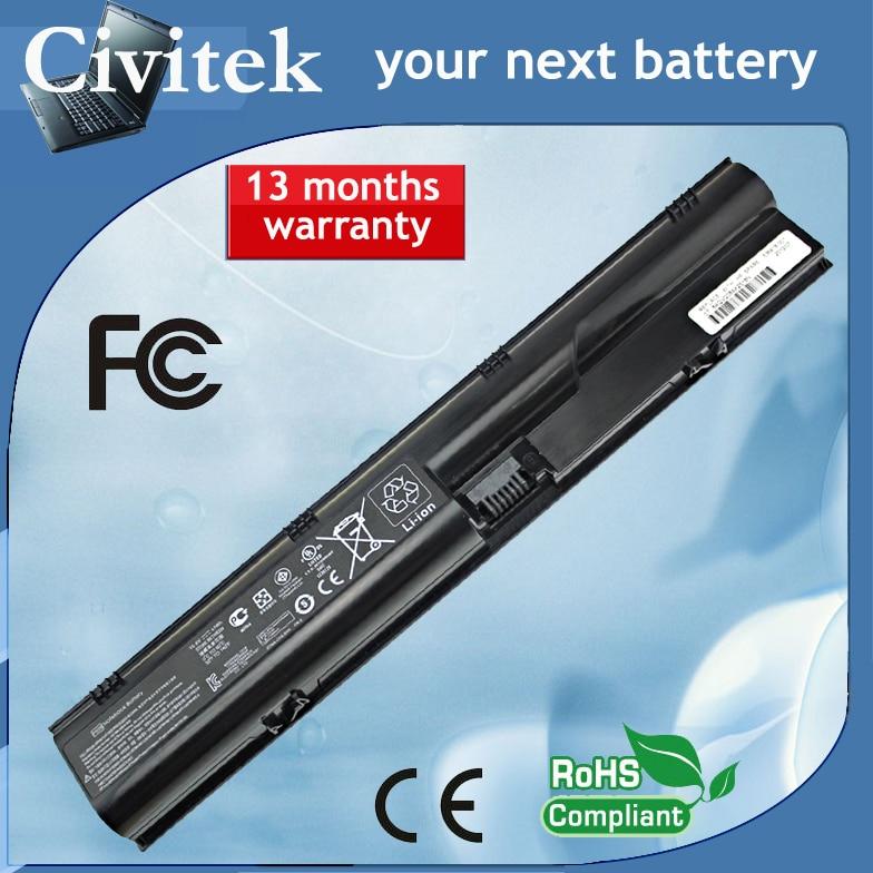 Battery for HP ProBook 4330s 4331s 4430s 4431s 4435s 4436s 4530s 4535s HSTNN-OB2R HSTNN-DB2R HSTNN-OB2T HSTNN-IB2R HSTNN-LB2R все цены