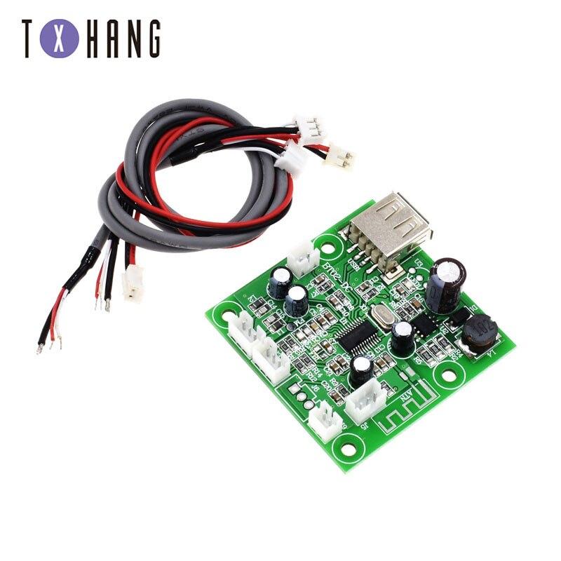 Placa de decodificador de MP3 Receptor Bluetooth Módulo de placa placa de circuito 6-39 V Voltaje