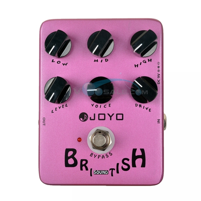JOYO JF-16 British Sound Effects Guitar Pedal Amplifier Simulator Guitar Accessories With True Bypass Mini Pedal Effect Guitar