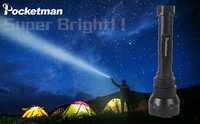 The Best Flashlight 15 LEDs XML T6 18650 26650 torch exploration flashlight tactical lantern Waterproof camping Charger gift