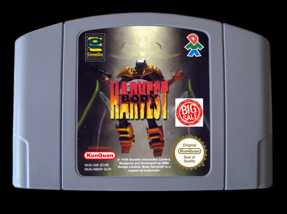US $30 0  64 Bit Games ** Body Harvest ( English PAL Version!! )-in Game  Deals from Consumer Electronics on Aliexpress com   Alibaba Group