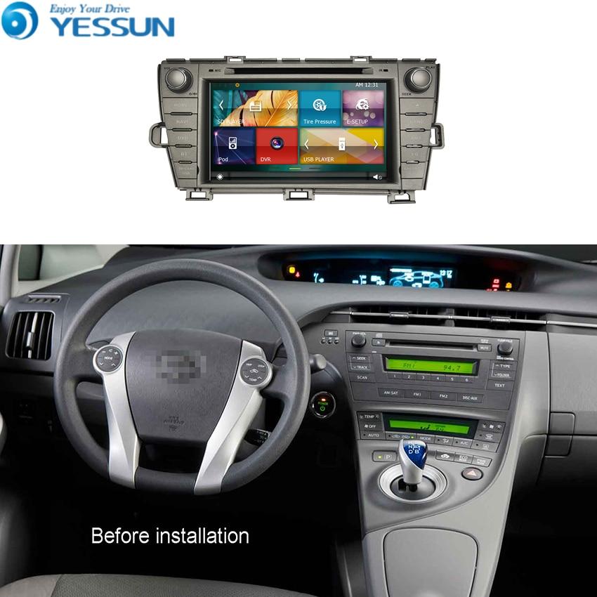 Car DVD Player System For Toyota Prius 2009~2013 Autoradio Car Radio Stereo GPS Navigation Multimedia Audio Video