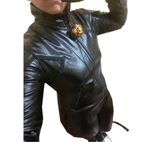 2018 Miraculous Ladybug Cat Noir With Mask Black Jumpsuits Costume Cosplay Two Styles For Choosing
