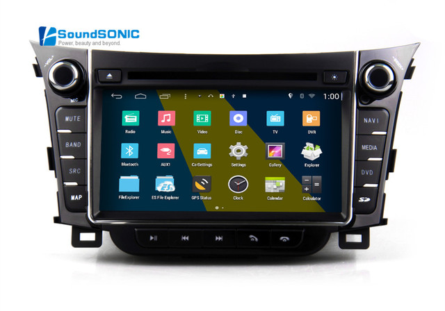 for hyundai i30 android 4 4 4 2din car radio stereo dvd. Black Bedroom Furniture Sets. Home Design Ideas