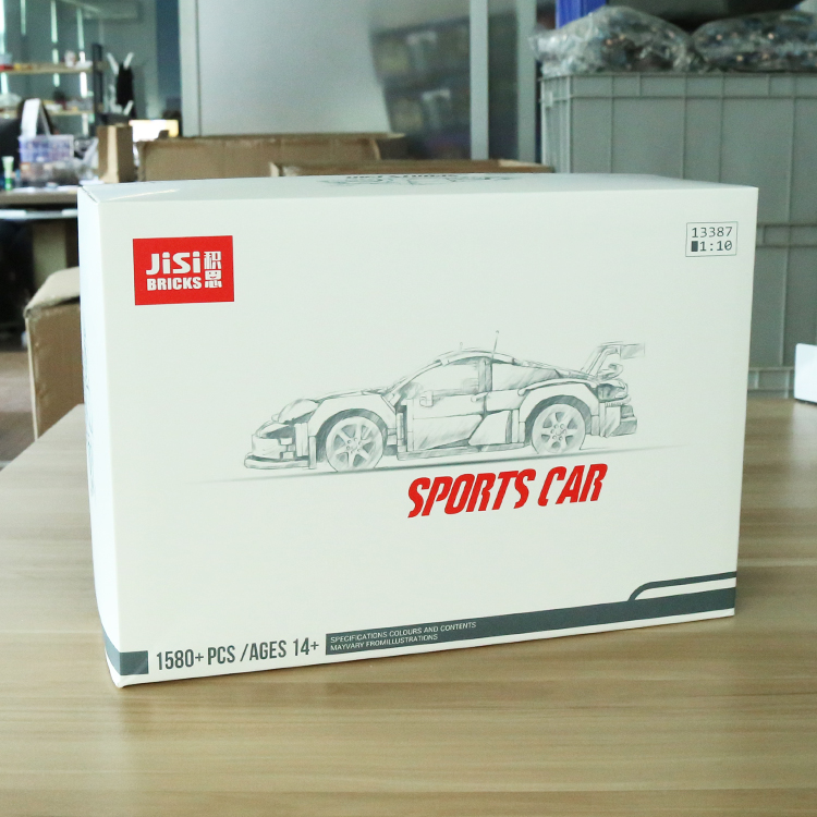 1580pcs DECOOL TECHNIC Compatible legoly 42096 Super Racer Car City Building Blocks Toys bricks toys for