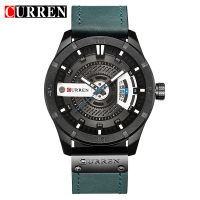 Relogio Masculino 2018 Men S Military Sport Quartz Watch Curren Watches Men Brand Luxury Leather Waterproof