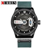 Relogio Masculino 2018 Men S Military Sport Quartz Watch Curren Watches Men Brand Luxury Leather Waterproof